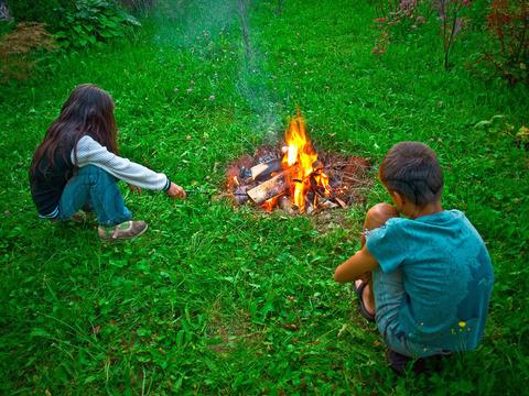 Sešgadīgs bērns var iekurt... Autors: sūdukule Pieredze