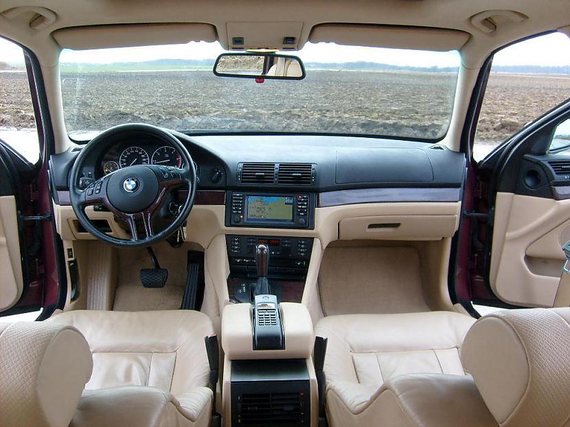 BMW piektās sērijas salons ir... Autors: Mr Cappuccino BMW E39 (1995 - 2004)