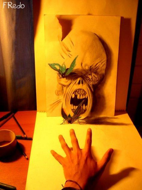 Autors: Kurmus 3D zīmējumi no Fredo