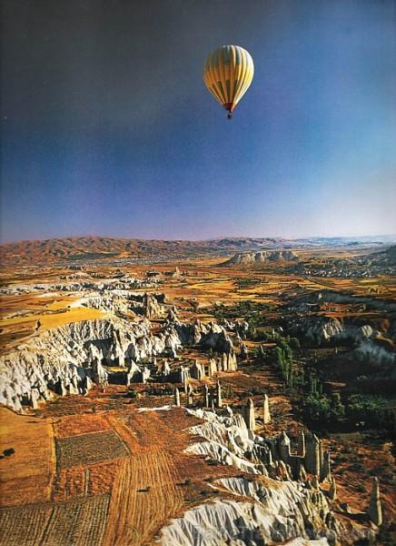 Kapadokija  sens Turcijas... Autors: APJUNSENO Elpu aizraujoši dabas skati