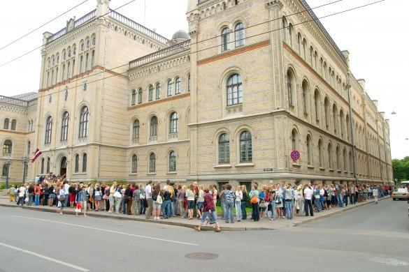 Joprojām saglabajas tendences... Autors: Namarie Latvijas Universitāte - diskusija