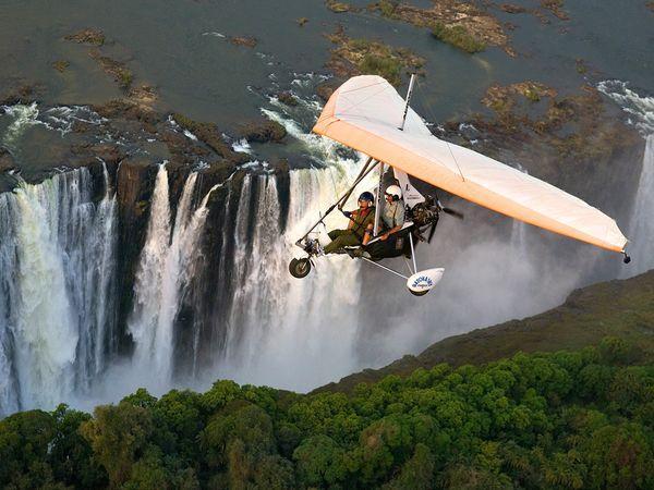 Lidināscaronanās virs... Autors: Fosilija 10 Interesantas tūrisma vietas !!!
