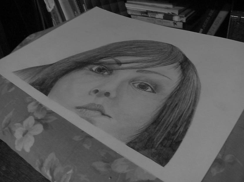 Scaronis ir 2 darbs kas tika... Autors: LielaisLempis Manu portretu evolūcija