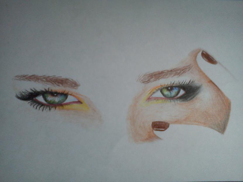 nākoscaronais krāsainais... Autors: LielaisLempis Manu portretu evolūcija