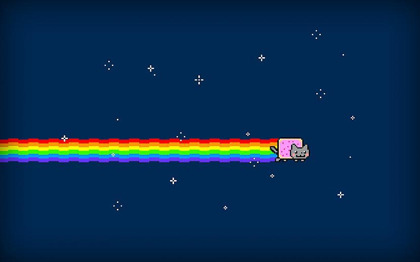 Video ir atdzīsts par pasaulē... Autors: hariits Kaitinoši - Nyan cat ...