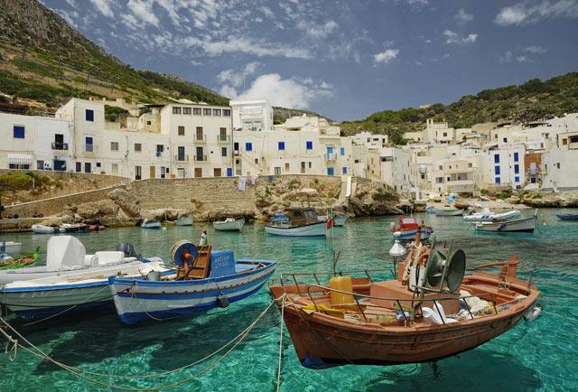 Egadi salas Itālija Trīs salas... Autors: Treiseris 15 labākās Eiropas salas