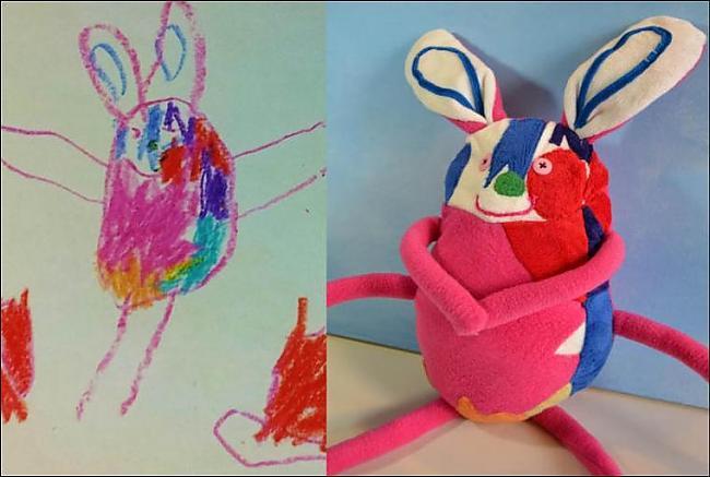 Autors: xd Mīkstas rotaļļietas pēc Bērnu zīmējumiem
