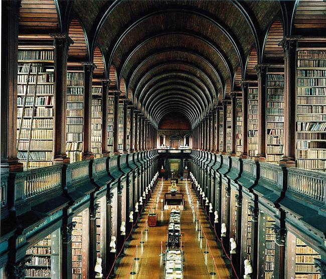 Trinitī Trinity koledžas... Autors: wilkatis 15 skaistākās pasaules bibliotēkas