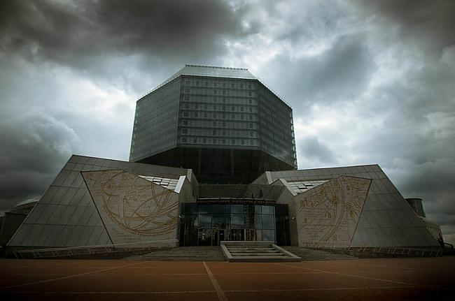 Baltkrievijas nacionālā... Autors: wilkatis 15 skaistākās pasaules bibliotēkas