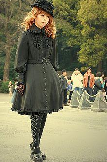 Gothic Loli Autors: DJ France Lolita fashion