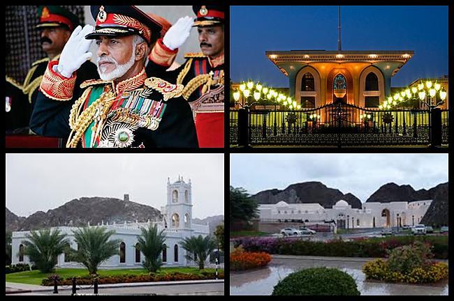 Kabo Bin Saīds Omānas sultāns... Autors: Treiseris Karaļi un viņu pilis 1.daļa