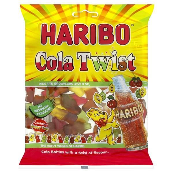 nbspHaribo Cola Twist Autors: CaptainMorgan21 Jaunās HARIBO končas