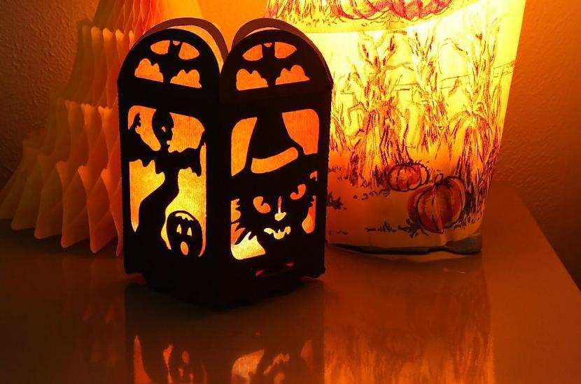 Autors: monta28 Lampa Helovīnu stilā
