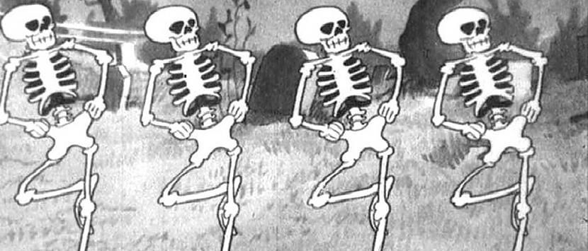 SkeletiAtgriežoties pie nakts... Autors: Kinkažu Helovīna simboli un to nozīme