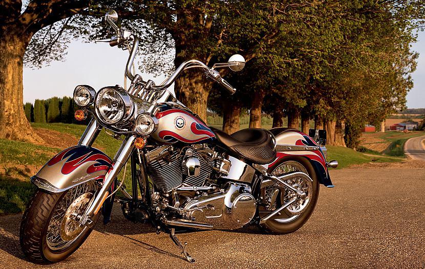 Softail Deluxe Autors: Fosilija Harley - Davidson, 2009