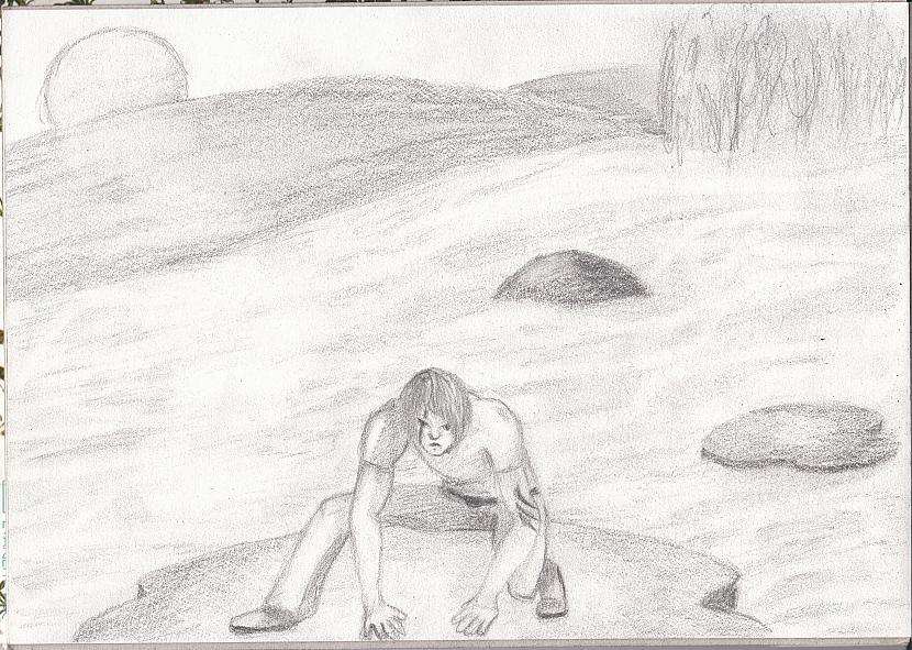 Scaroneit nu fonu nācās... Autors: katnix Mani zīmējumi....2
