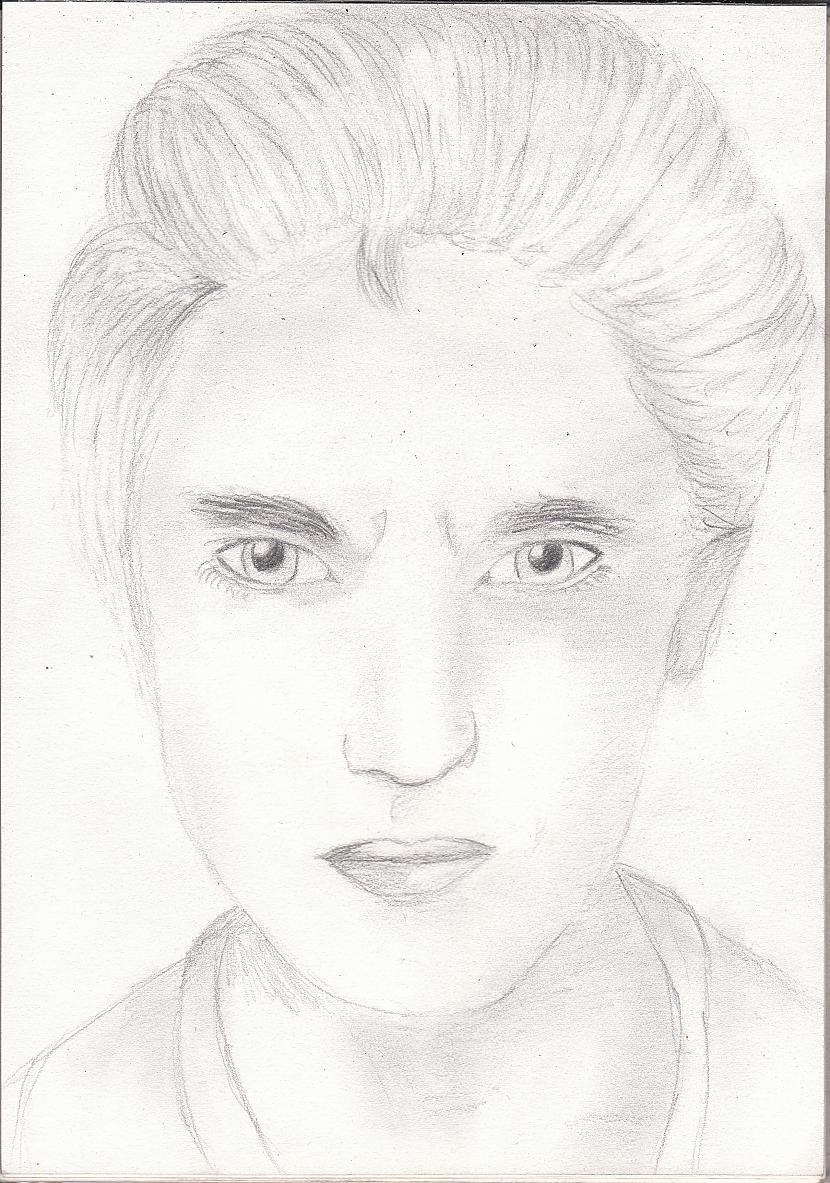 Robert PattinsonVarbūt var... Autors: katnix Mani zīmējumi....2