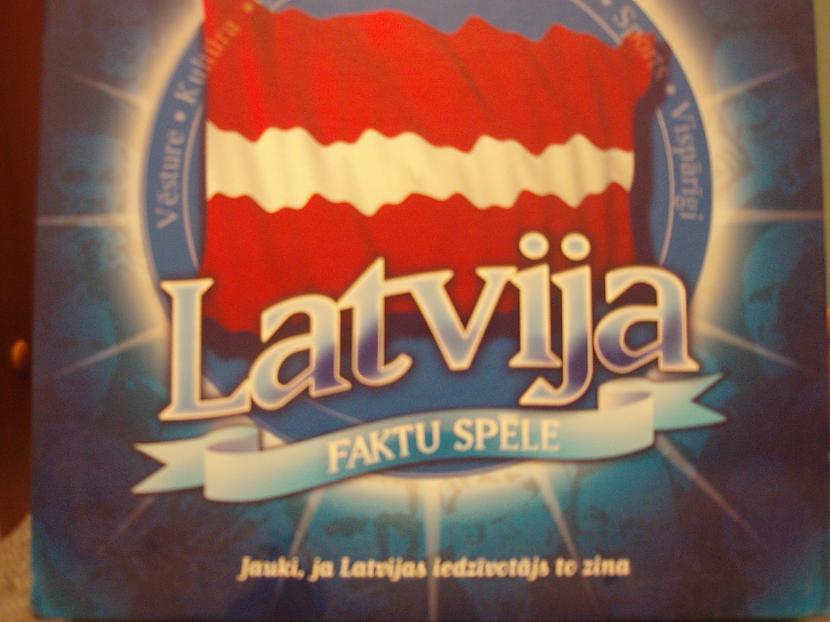 Latvija faktu... Autors: nikrider Populārākās galda spēles