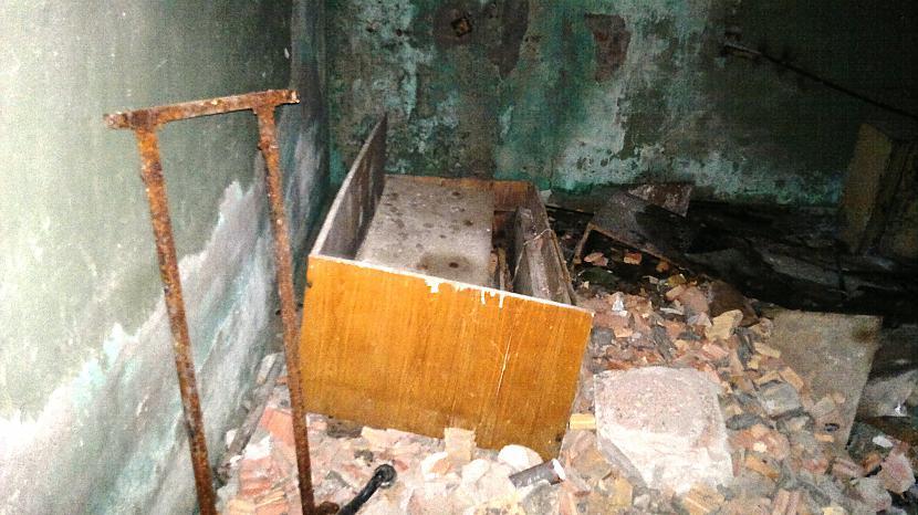čucu gultiņa Autors: Ragnars Lodbroks Neliels nakts pavazājiens pa sanatoriju