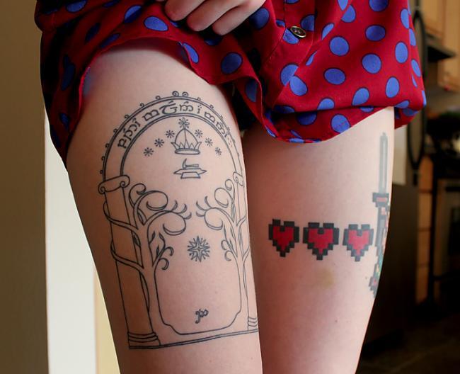 Autors: VectorX Tattooed Women IX