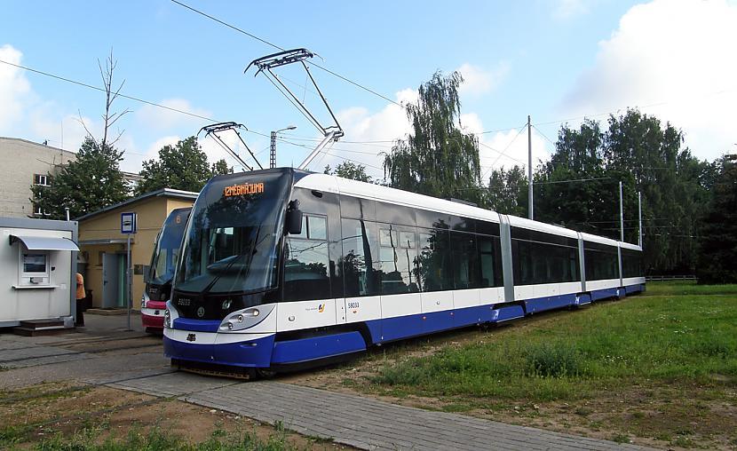 Tramvajs Scaronkoda 15T1 RIGA... Autors: Fosilija Tramvaji Rīgā.