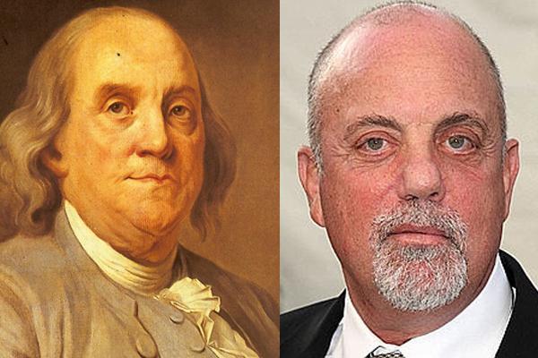 Ben Franklin gt Billy Joel Autors: luvazhels Vēsturiskie Slavenību Līdzinieki!!!