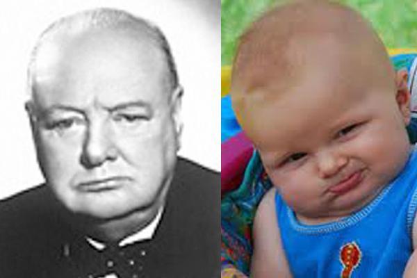 Winston Churchill gt This Baby Autors: luvazhels Vēsturiskie Slavenību Līdzinieki!!!