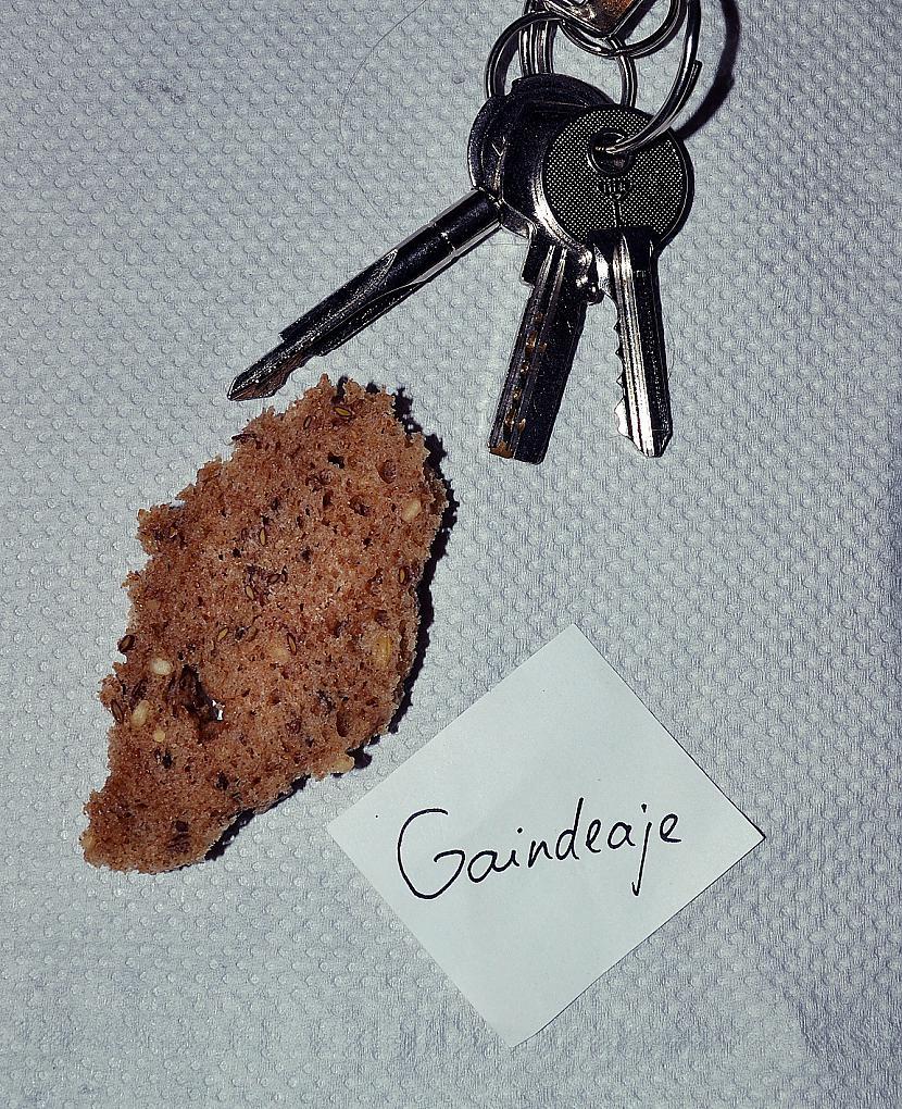 Autors: Gaindeaje 3 atslēgas un maizes mīkstums