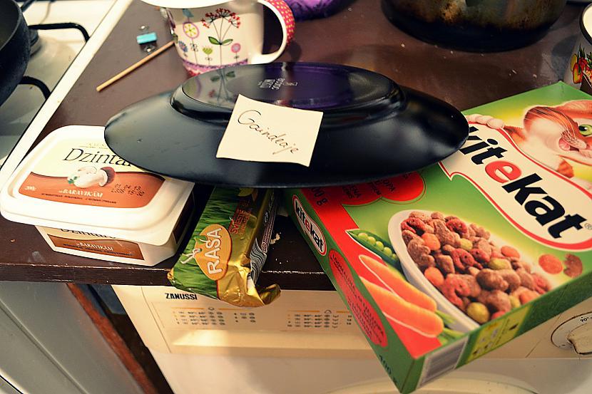 Autors: Gaindeaje 3 dažādi ēdieni...