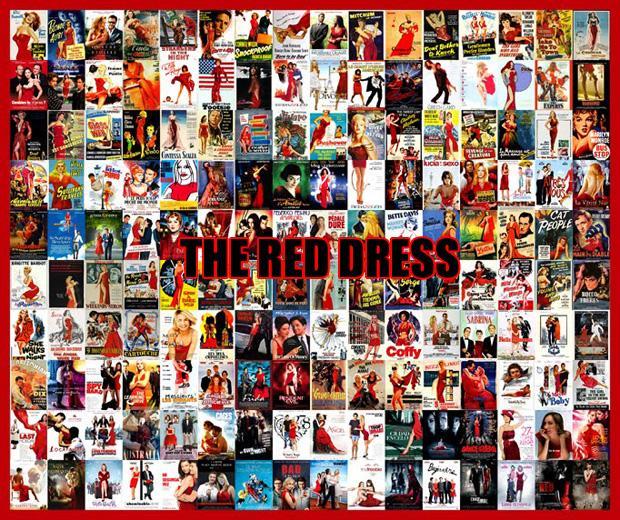 Sarkanā kleita Scarono... Autors: zlovegood Kā uztaisīt labu filmas plakātu?