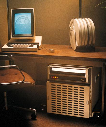 Xerox Alto tika izgudrots... Autors: Werkis2 Kā Apple apzaga vieglprātīgo - XeroX (XeroX Alto 1973)