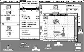 Apple lisa GUI Autors: Werkis2 Kā Apple apzaga vieglprātīgo - XeroX (XeroX Alto 1973)
