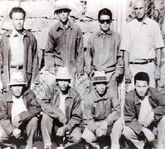 Meksikāņu mafija La eMe... Autors: Fosilija Pašas nežēlīgākās bandas pasaulē