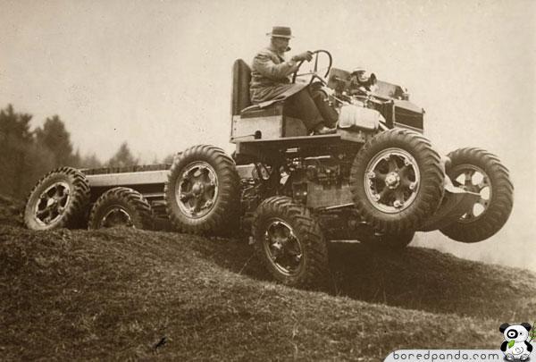 Visurgājējs Anglija 1936gads... Autors: Fosilija 20.gs. trīsdesmito gadu izgudrojumi