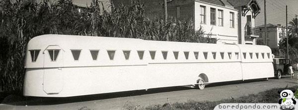 Paplascaronināma karavāna... Autors: Fosilija 20.gs. trīsdesmito gadu izgudrojumi