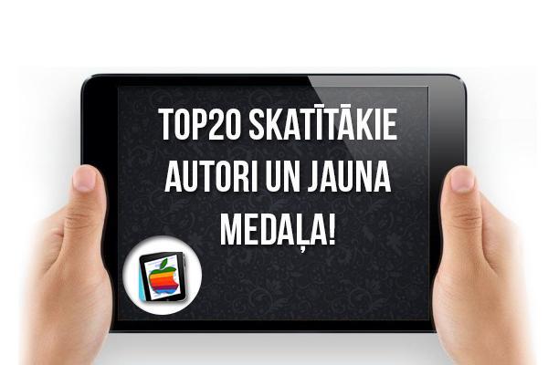 Autors: Spoki iPad mini: karstākais Top20