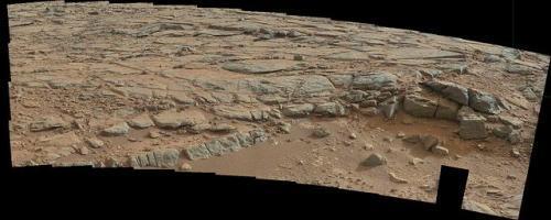 Autors: Moonwalker Curiosity atrod neizskaidrojamu objektu