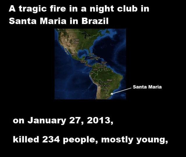 Traģisks ugunsgrēks Brazīlijas... Autors: MJ Viņš ir īsts varonis!!