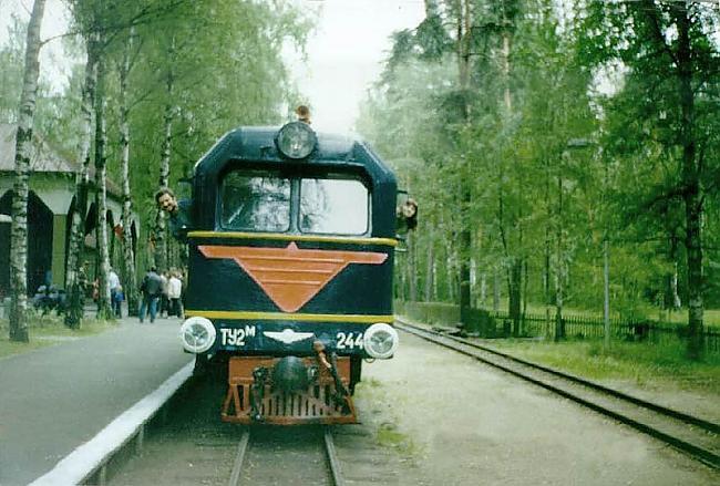 nbsp1968 gadā tika veikta vēl... Autors: Budists Rīgas bērnu dzelzceļš
