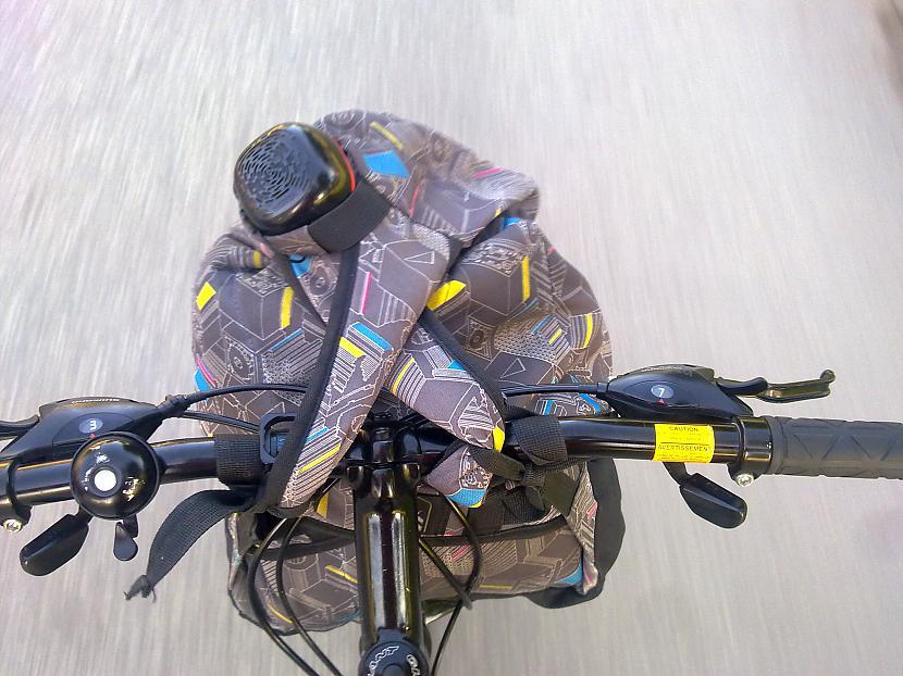 Manis izdomātais mezgls Tas... Autors: FiicHa 100km Ar velo no kojām uz mājām.