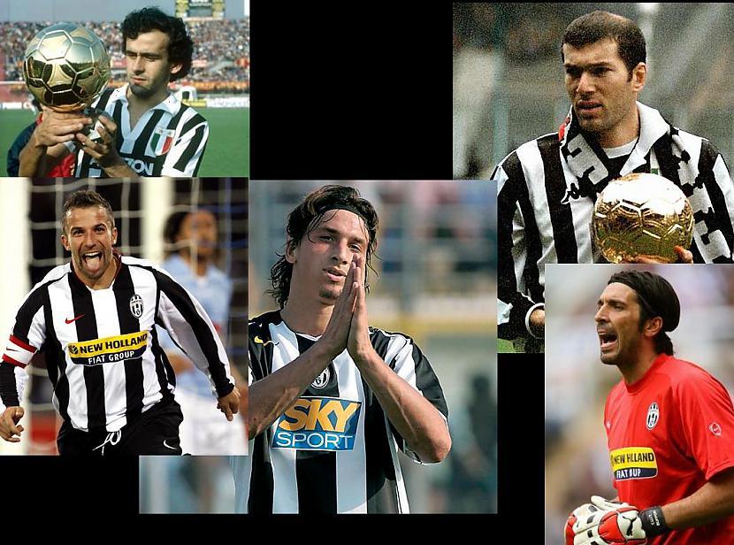 Juventus ir spēlējuscaroni... Autors: Vēlamais niks Juventus vēsture
