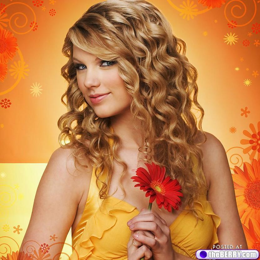Septītā vieta Taylor Swift... Autors: ivarssmaidins Top 10 twittera populārākie profili.