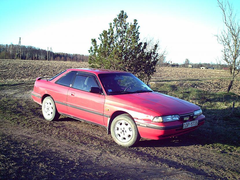 Mazda 626 20 i 1989g coupe... Autors: katobek Mani auto