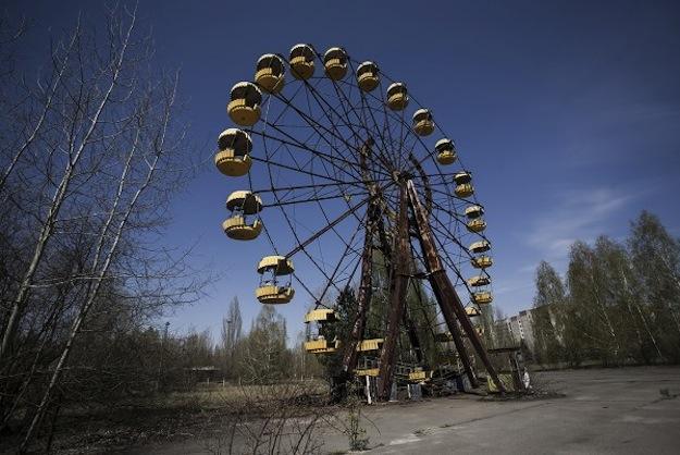 Karuselis Pripjatas pilsētā... Autors: R1DZ1N1EKS Atrakciju parki bez atrakcijām.