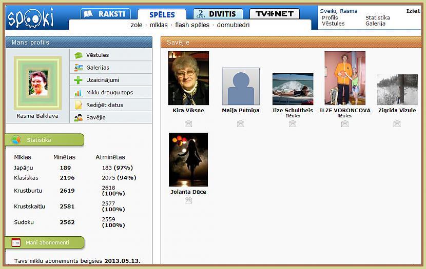 Mans profils Tas atvērts ar... Autors: rasiks Par profiliem (1)