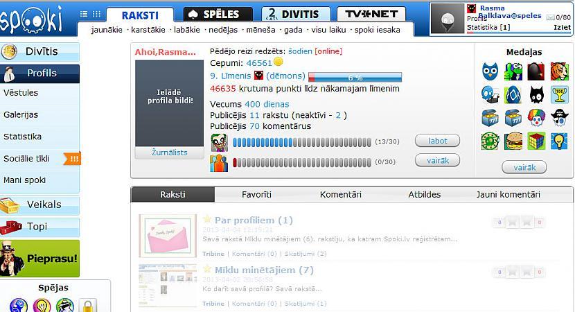 Mana profila bilde RAKSTOS... Autors: rasiks Par profiliem (1)
