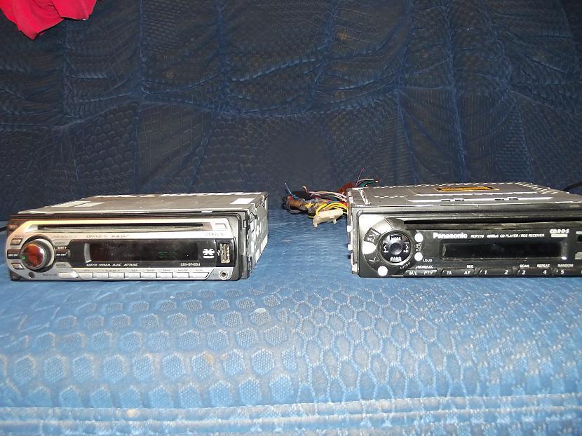 Labaja pusē Panasoniks 4x40... Autors: skailain2012 Magnetafoņčiks!
