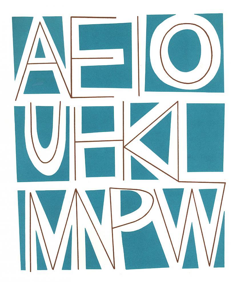 Havajiescaronu alfabētā ir... Autors: Fosilija 20 nedzirdēti fakti. Pirmā daļa.