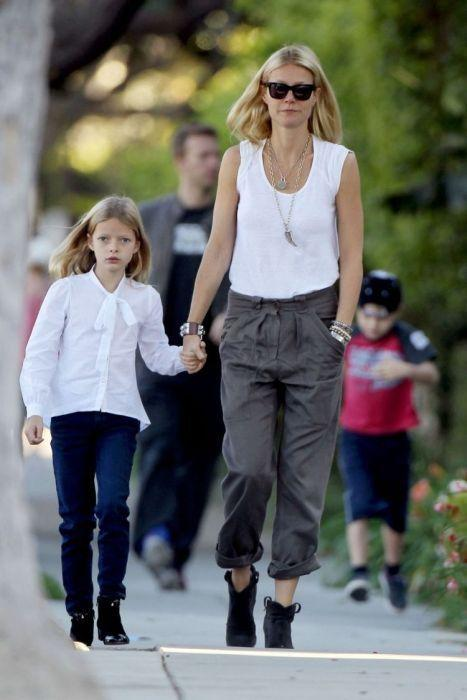 Apple Martin un Gwyneth... Autors: Deadshot Slavenību bērni kuri līdzīgi savām mammām