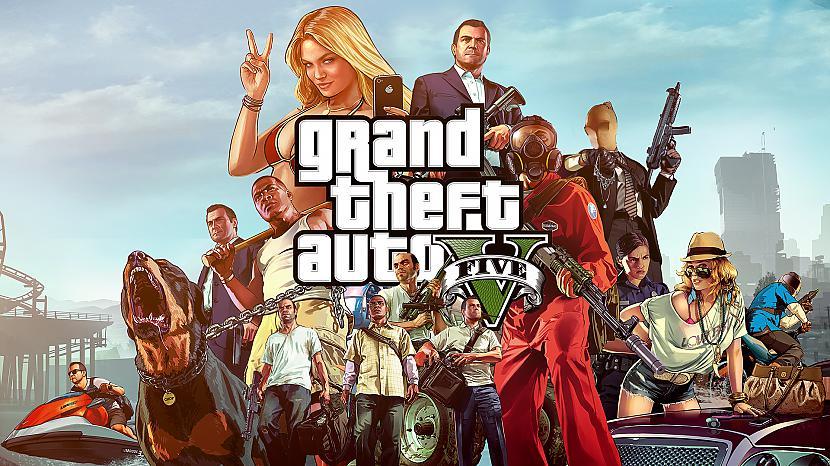 1 Vieta  Grand Theft Auto... Autors: Cepumugludeklis Top 10 video spēles 2013. gadā.